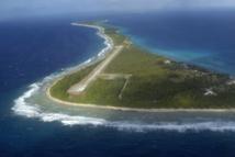 L'atoll de Rongelap, théâtre d'essais nucléaires américains jusqu'en 1966.