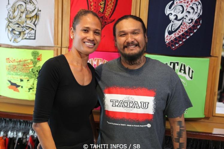 Priscilla et Jeffry Yersin sponsorisent de nombreux sportifs polynésiens