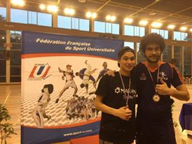 Taekwondo : Waldeck Defaix et Teddy Teng, champions de France Universitaire