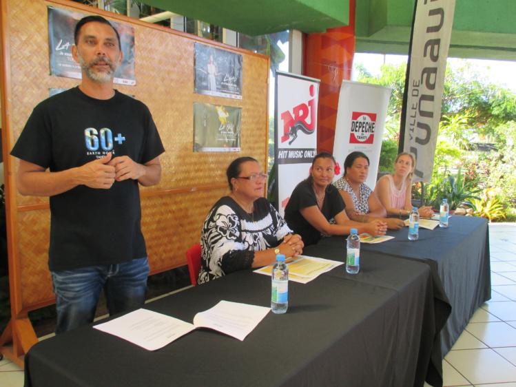 Depuis quatre ans, Jerry Biret promeut Earth Hour à Tahiti.