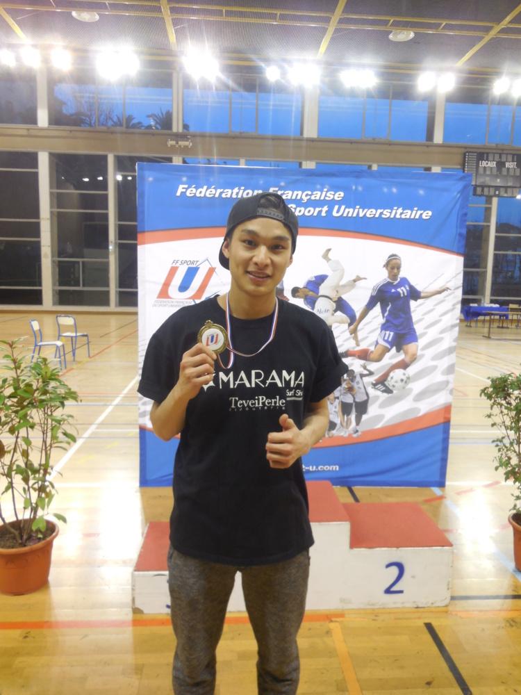 Taekwondo : Teddy TENG, retour sur son titre de champion de France U 2016