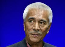 Le président sortant Anote Tong.