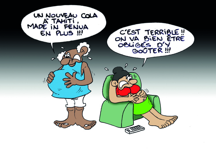 """Le cola tahitien"" par Munoz"