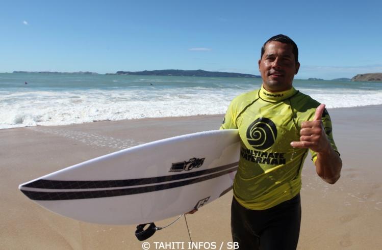 Manoa Drollet, le Big Wave Rider défendra les couleurs de Tahiti