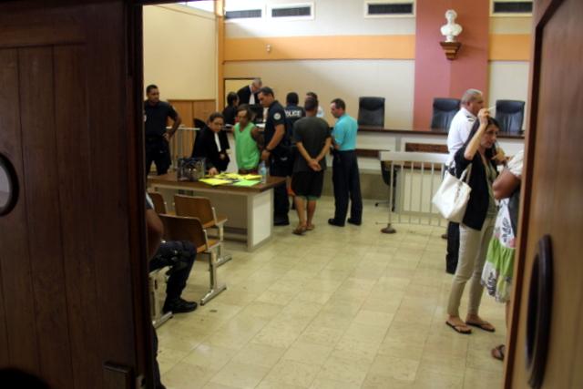 Les escortes de la gendarmerie et de la police ont été particulièrement sollicitées cet après-midi au tribunal.