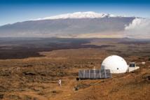 La station Mauna Loa à Hawaï.