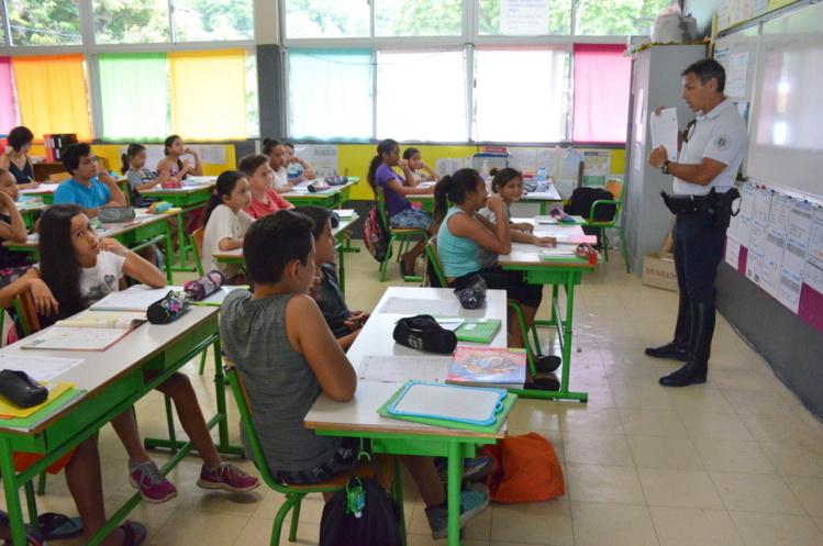 La DSP a achevé vendredi l'opération Permis piéton, sur sa zone d'intervention. Sur le reste de la Polynésie française la gendarmerie nationale mène cette opération auprès des enfants âgés de 8 à 9 ans.