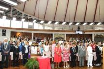 Les 70 ans de l'assemblée en présence de nombreux invités ce vendredi à Taraho'i.