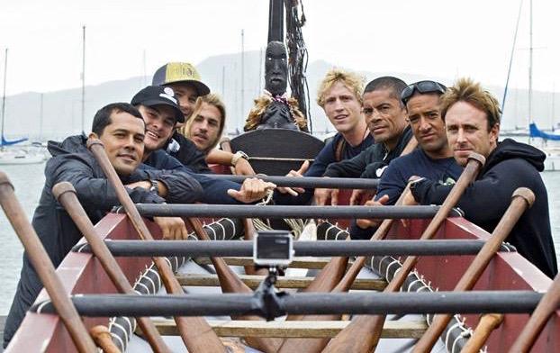 Les athlètes ont pu entrer en contact avec le mana Maori