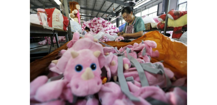 En Chine, la production industrielle continue de s'essouffler