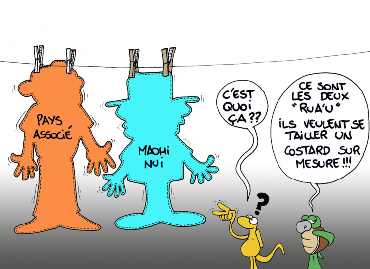 """""""Les pays associés"""" vu par Munoz"""