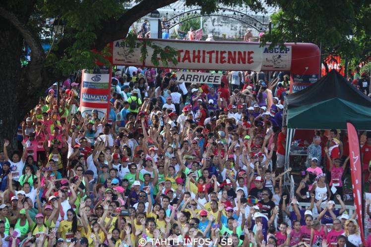 Record battu avec environ 5 300 participantes