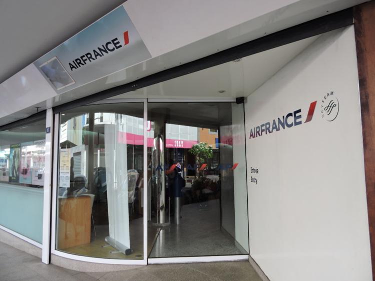 L'agence de Papeete et le service client téléphonique ont pu fonctionner lundi.