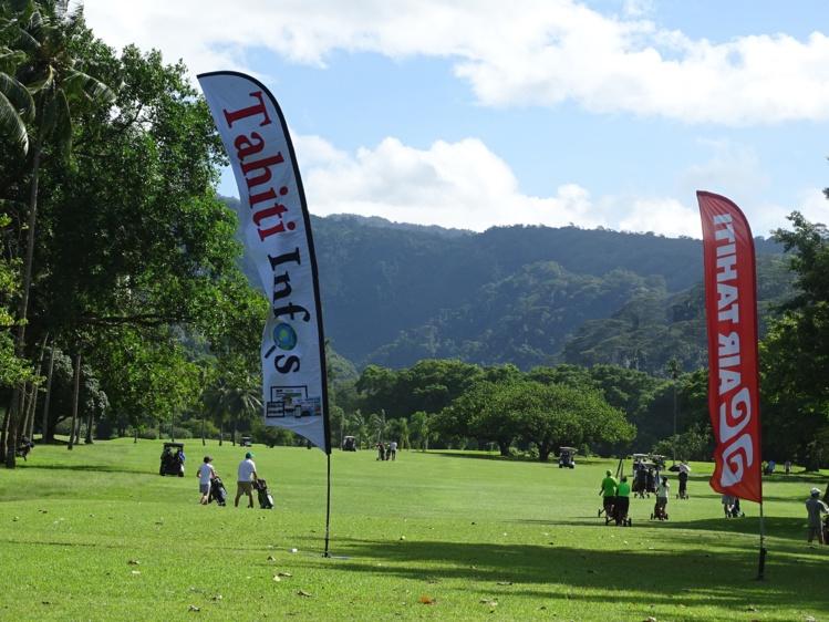 Un décor somptueux pour cette compétition de golf locale