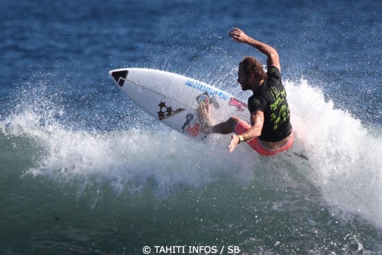 Steven Pierson, un surfeur de compétition très expérimenté