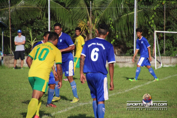 Foot Ligue 2 : Arue passe devant l'Olympique de Mahina