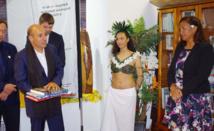 Les auteurs océaniens réunis à la Délégation de la Polynésie française