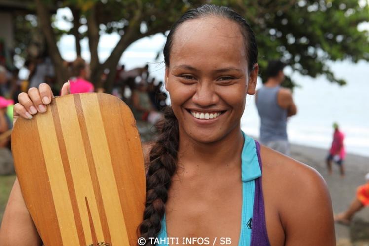 Tenaturanui Maona est venue de Huahine pour réussir à se qualifier
