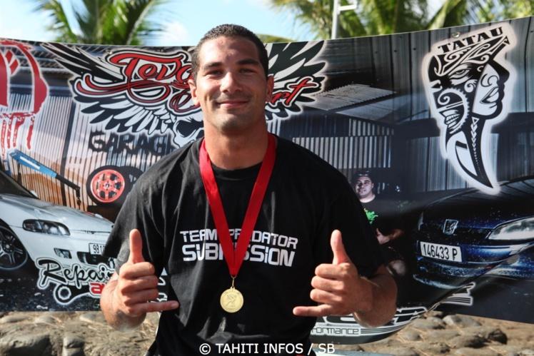Tumaui Nordman est un pratiquant de lutte et de jiu jitsu