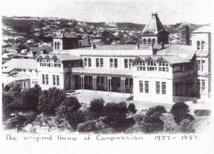 """La """"Maison de la Compassion"""", telle que la conçut Suzanne, pour venir en aide aux déshérités."""