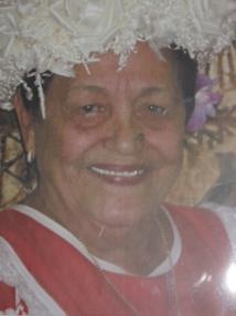 Mama Vaetua est décédée jeudi à l'âge de 95 ans.