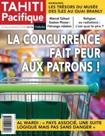 A la Une de Tahiti Pacifique Hebdo demain :