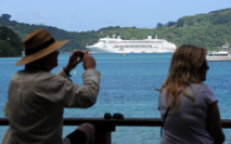Course aux croisiéristes : nouveaux incidents sur le quai de Port-Vila
