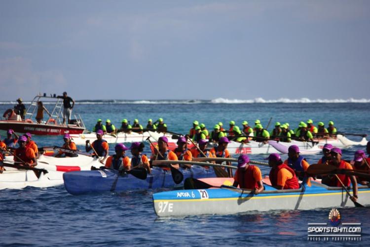Va'a « Eimeo Va'a  » : La suprématie déconcertante du collège de Bora Bora