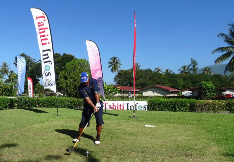 Le golf est un sport qui plait à Tahiti