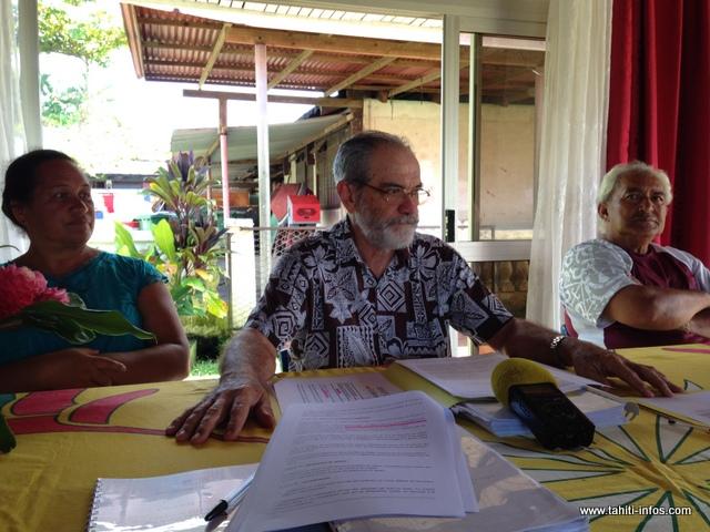 Jacqui Drollet, maire délégué de Hitia'a a convié la presse hier matin pour expliquer son positionnement au sein du conseil municipal et faire un point sur l'enquête publique qui a démarré il y a trois semaines.