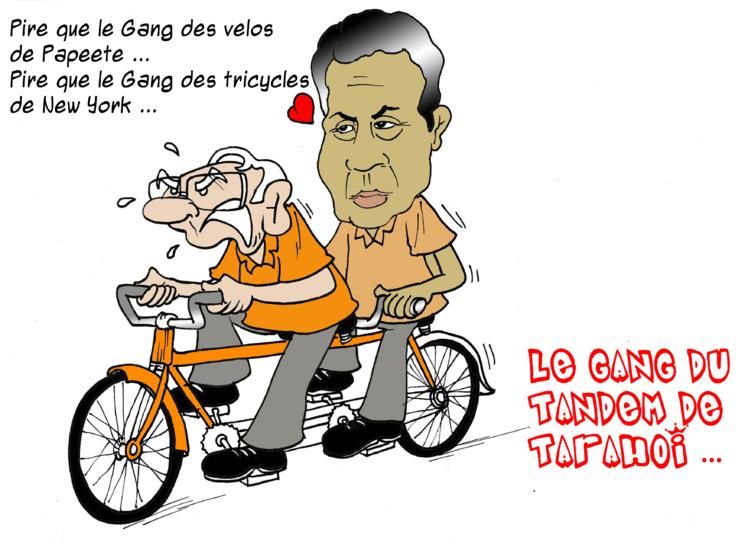 """""""Le gang du tandem de Tarahoi"""" par Munoz"""