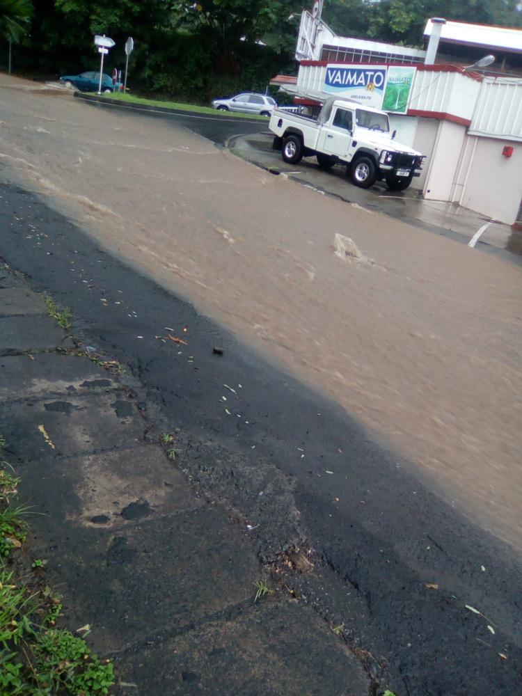 Fortes pluies: prudence sur les routes