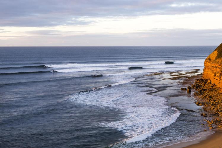 Le célèbre spot de Bell's Beach