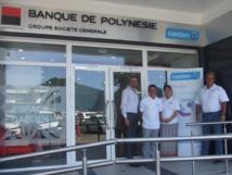 Un nouvel espace CASDEN, Banque de Polynésie à Papeete
