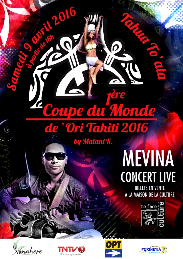 Samedi, après la Coupe du monde de 'ori tahiti, Mévina Liufau se produira pour un concert unique.