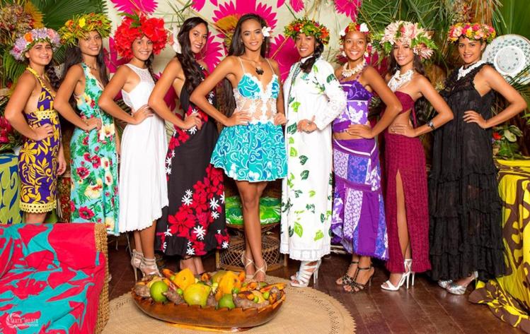Cette année, elles sont neuf candidates à concourir pour l'élection de Miss Papara