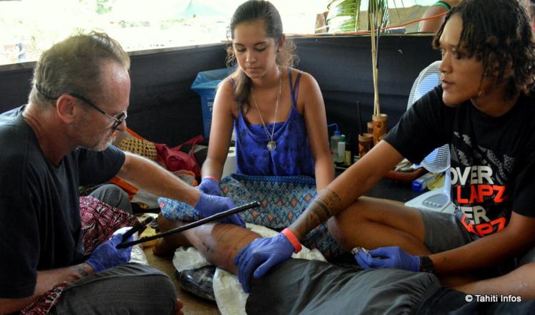 Lovisa Tattoo de Moorea