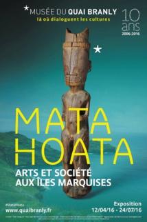 Affiche de l'exposition Mata Hoata au Musée du Quai Branly.