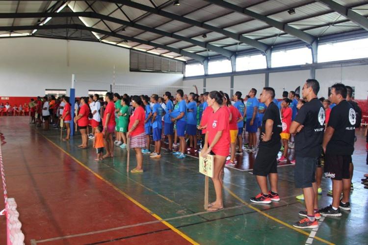 Plus de 300 sportifs réunis à Mataiea jusqu'au 8 avril