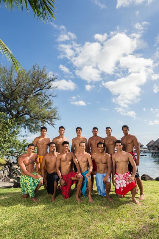 Mister Tahiti 2016 : les candidats n°3 et n°4