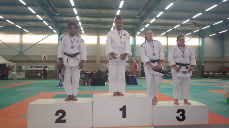 Judo « Tournoi national Adidas » : De l'or pour Krystal Garcia et du bronze pour Poeiti Golhen
