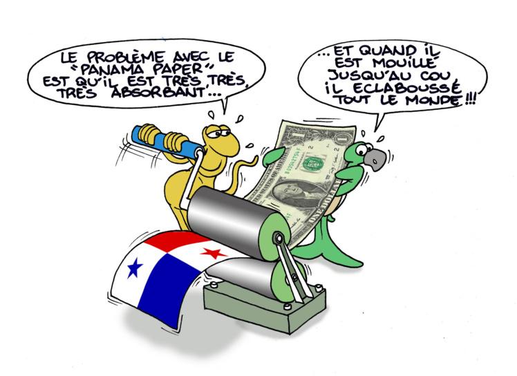"""""""Panama paper"""" vu par Munoz"""