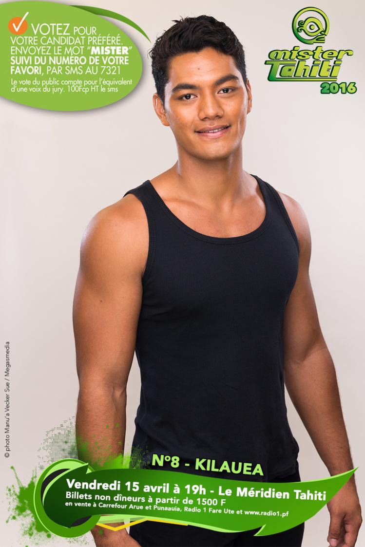 Mister Tahiti 2016 : les candidats n°7 et n°8