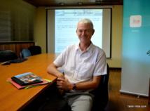 Pierre-Yves Le Bihan, directeur de l'IEOM, présente les chiffres de l'économie polynésienne en 2015