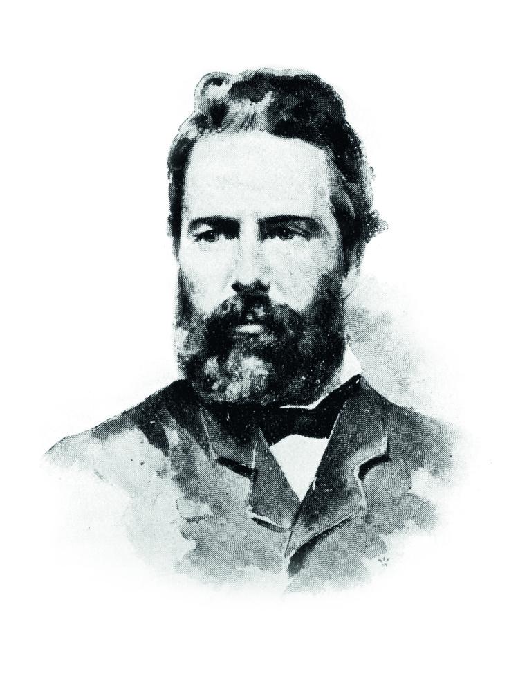 Tahiti Infos s'est offert les services d'un pigiste de luxe pour décrire la baie de Taiohae, Herman Melville lui-même (avec Max Radiguet en renfort !).