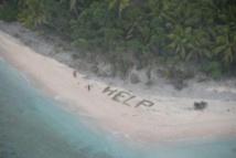 Trois hommes retrouvés par l'armée américaine sur une île déserte du Pacifique