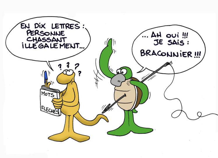 """""""Les braconniers"""" par Munoz"""