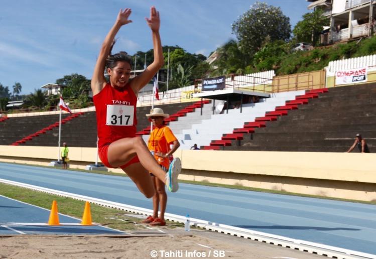 Kahaia Dauphin 4e en saut en longueur