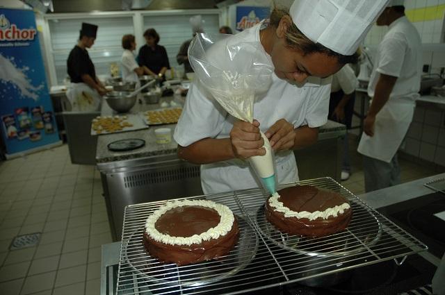 Le concours de pâtissier est organisé tous les deux ans.