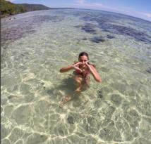 "Marine Lorphelin : ""La Polynésie, j'aime beaucoup !"""